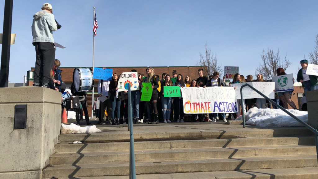 Mead High School students lead Climate Strike