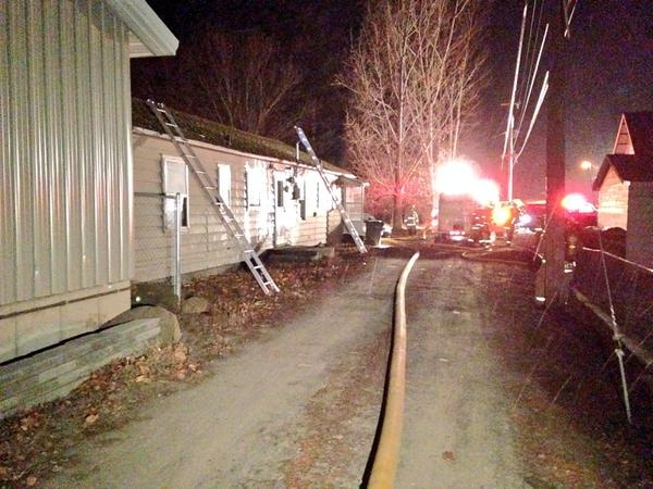 4 displaced in Medical Lake house fire