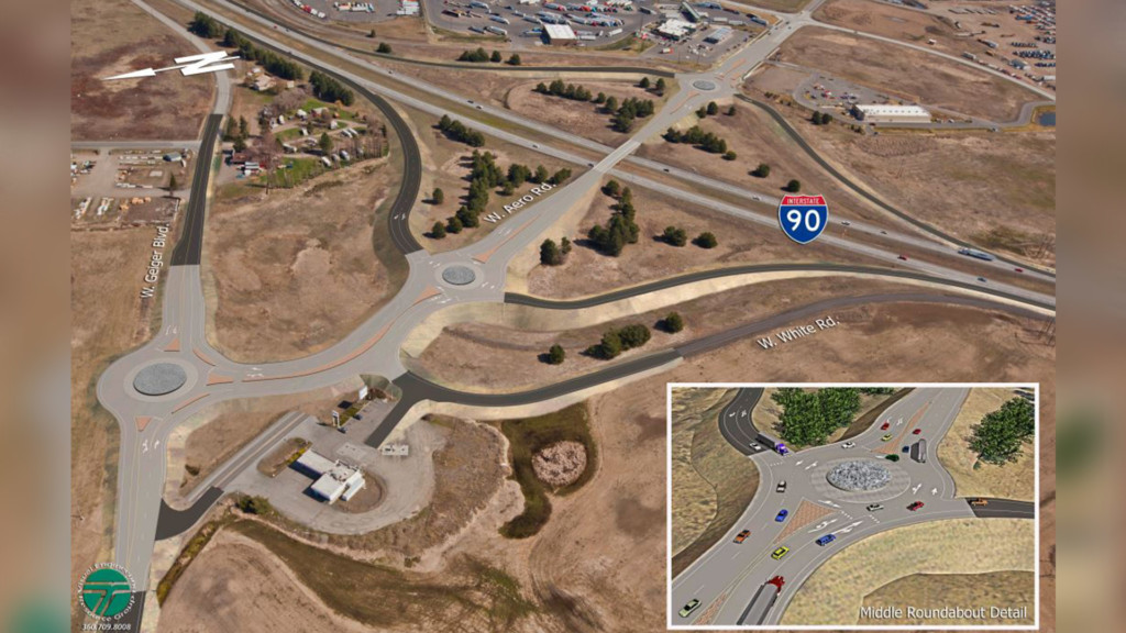 Medical Lake interchange will face lane closures through the month