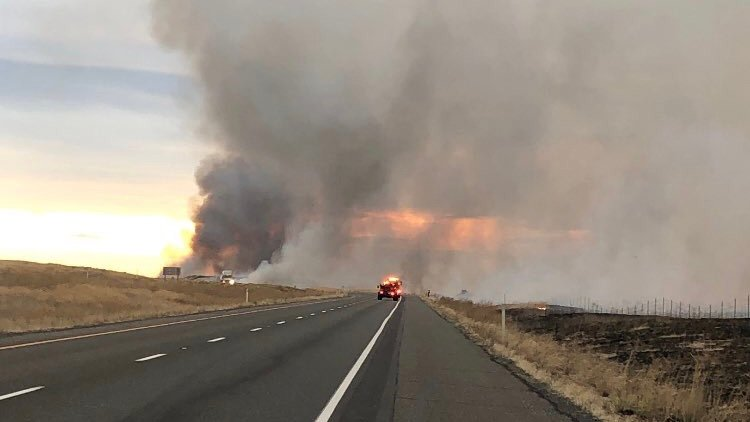 7,000-acre wildfire near Mesa now 30 percent contained
