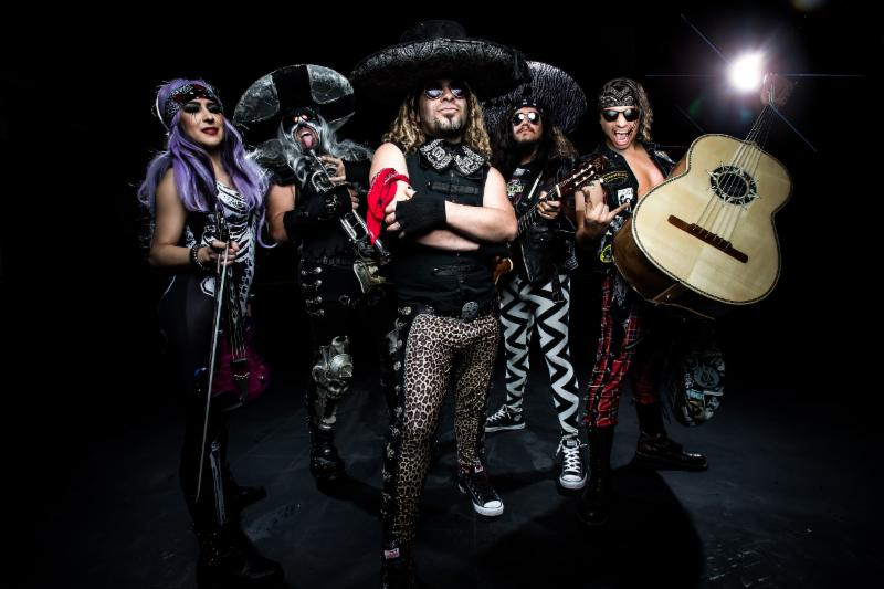 World's only heavy metal mariachi band to play two shows in Washington