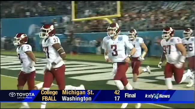 Michigan State Dominates Cougs in Holiday Bowl