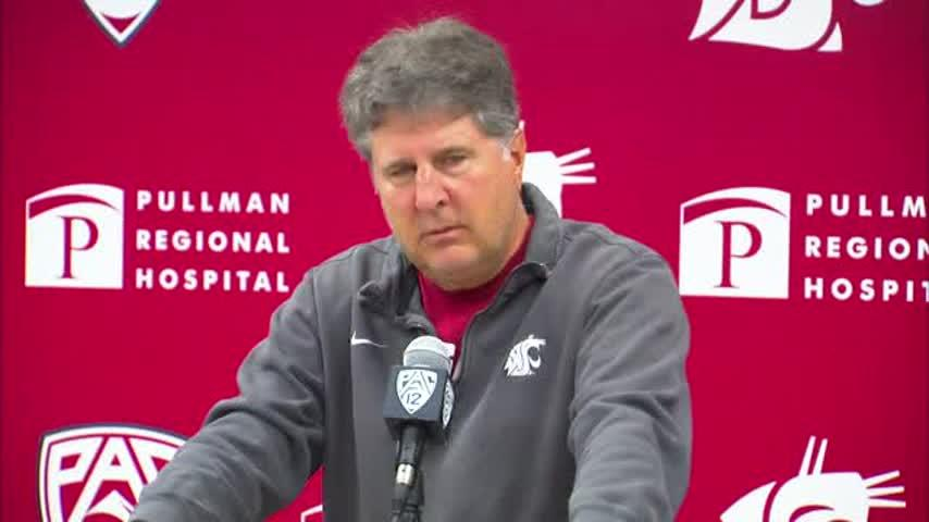 WATCH LIVE: Mike Leach speaks to the media fresh off this weekend's win in Houston