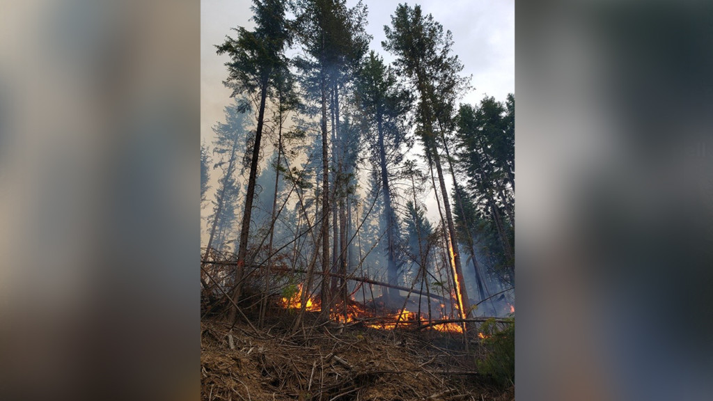 North Mill Creek Fire near Colville completely contained
