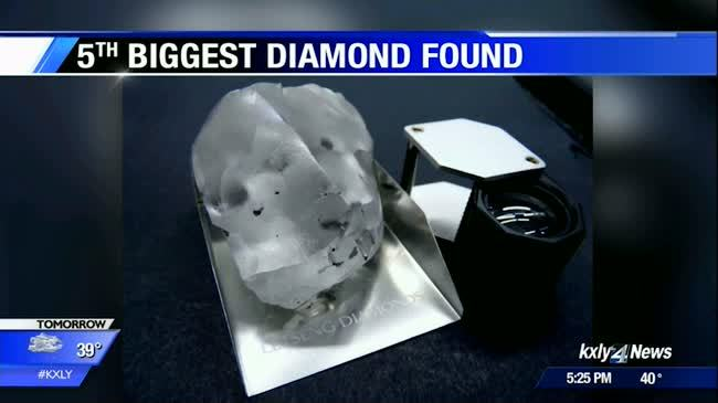 Miners find one of the biggest diamonds in the world