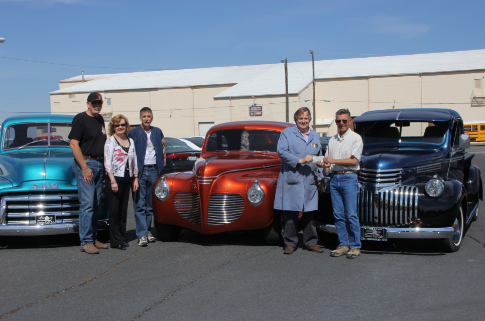 Donation from Moses Lake Classic Car Club helps BBCC automotive students
