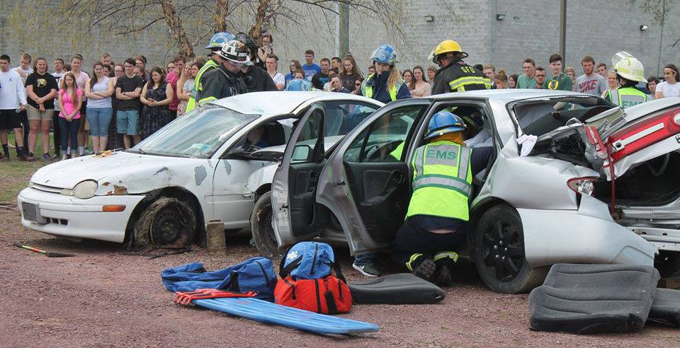 Making students aware of the dangers of drinking and driving