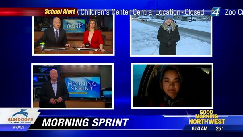 Top Stories for your snowy Tuesday