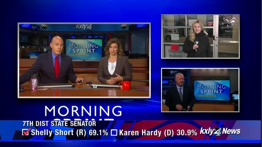 Wednesday morning's midterm election results