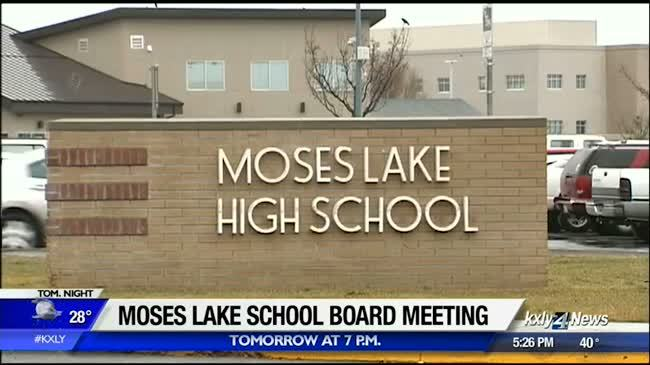 Moses Lake school board meeting to be held at Moses Lake High School auditorium