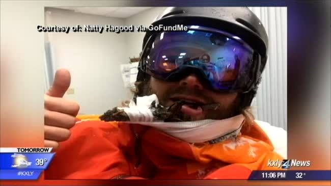 Mother of impaled skier says he is much more than viral sensation