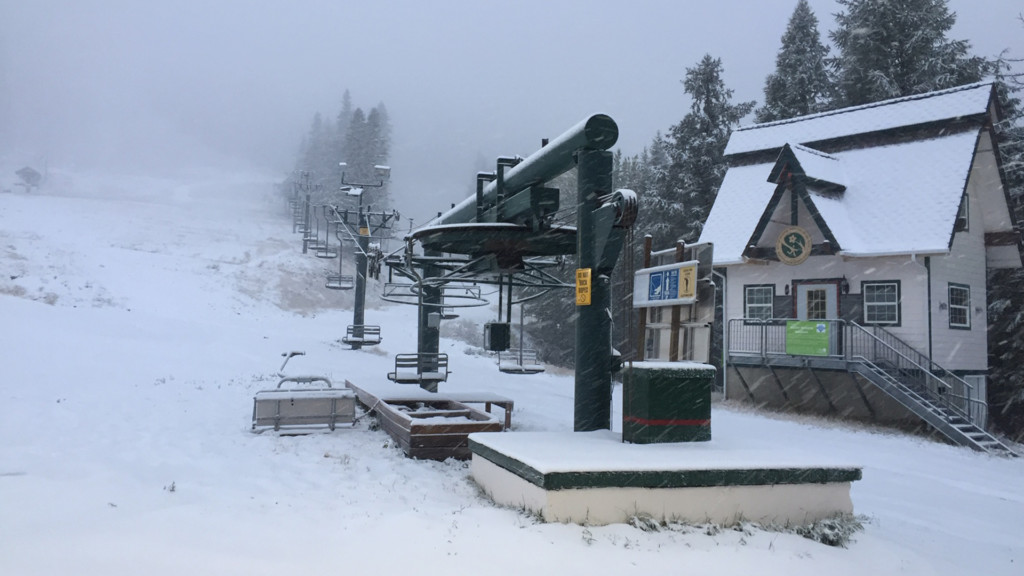 Mount Spokane could open early this year if the autumn snowfall continues
