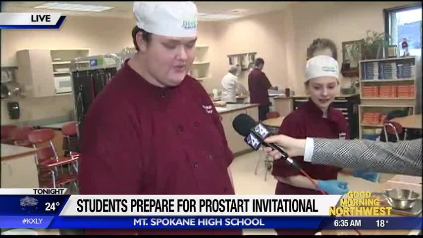 Mt. Spokane HS chefs heading to national competition in Washington D.C.