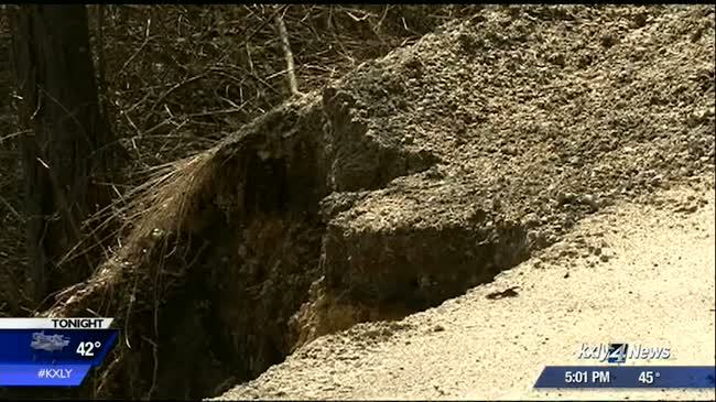 Mudslide knocks home off foundation in Sagle