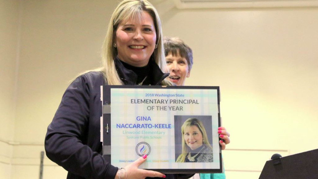 Linwood Elementary Principal awarded Elementary Principal of the Year
