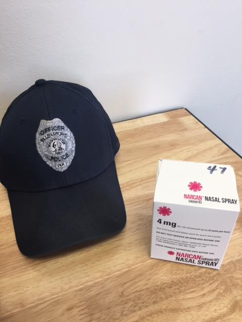 Ellensburg Police will now carry Narcan