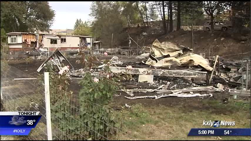 Neighbors devastated by aftermath of Elmer City fire