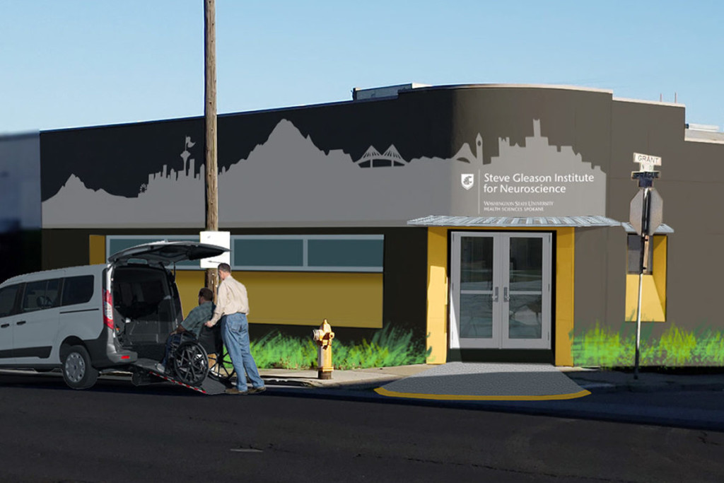 Steve Gleason teaming up with WSU to open neuroscience center
