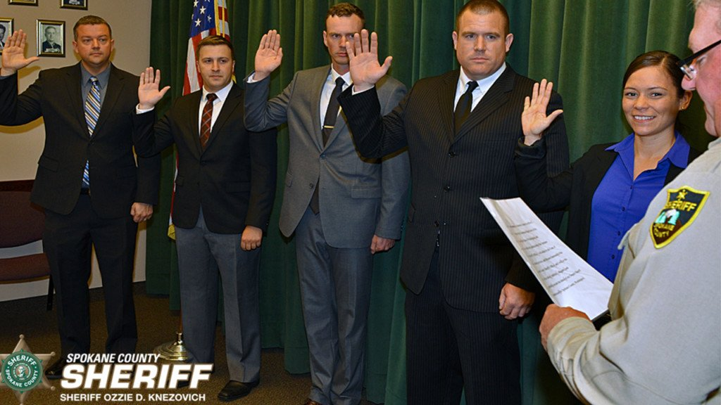 Spokane County Sheriff's Office welcomes five new deputies