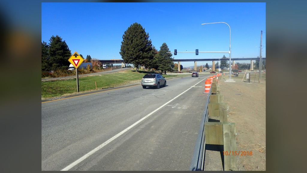 Ramp meters going up along I-90 in Spokane