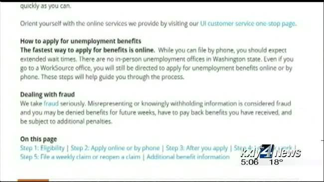 New system creates backup on state unemployment site