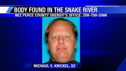 Body of 52-year-old man found in Snake River