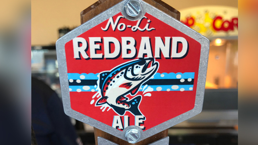 No-Li's new Redband Ale is exclusive to Avista Stadium