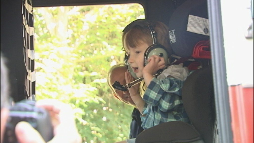 Boy saved by Pulse Point app, mechanic gets special escort to preschool