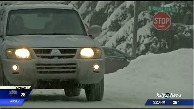North Idaho prepares for winter storm to hit