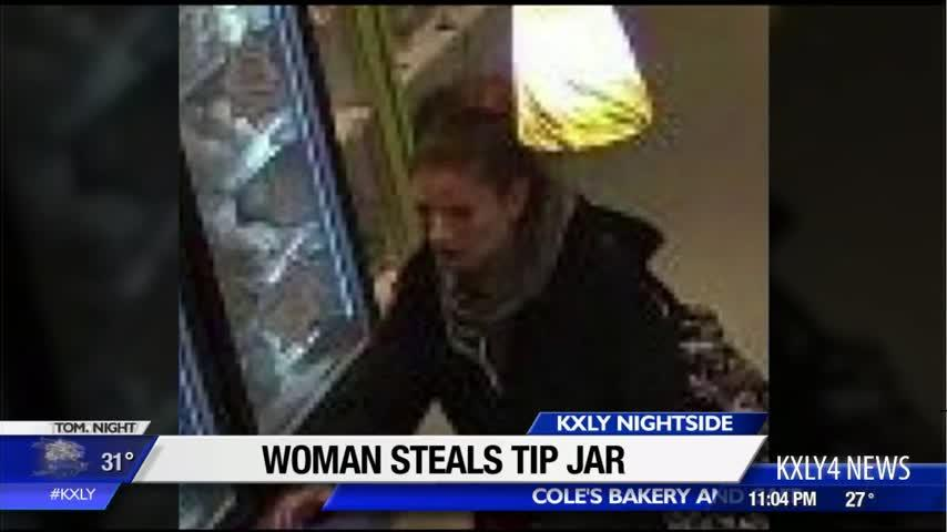 Tip jar stolen from Spokane bakery: Do you recognize the thief?