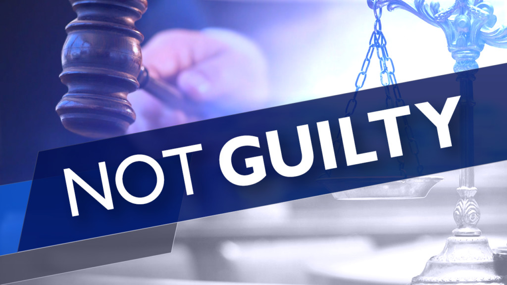 Bounty hunter found not guilty of trespassing charge