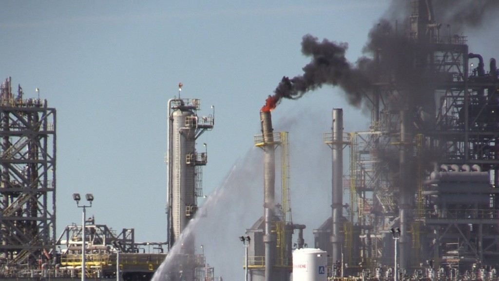 'All Clear' sounded after REC Silicon oil fire