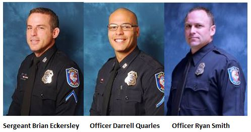 Names released of 3 officers involved in Walmart shooting