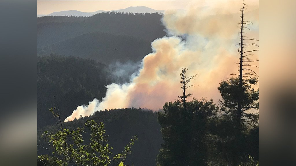 Colville fire at 80% containment