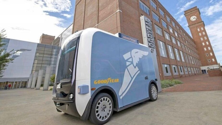 This self-driving vehicle could soon make its way to Riverfront Park