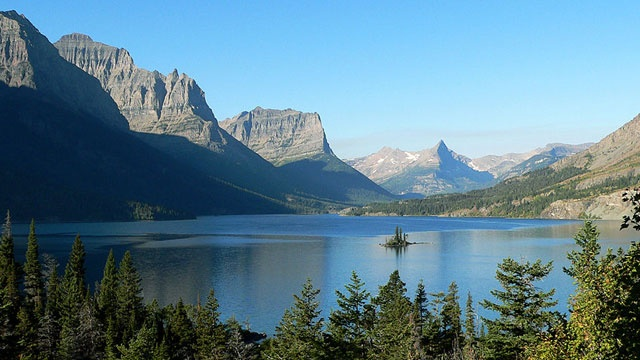 Visitation to Glacier National Park increased last month