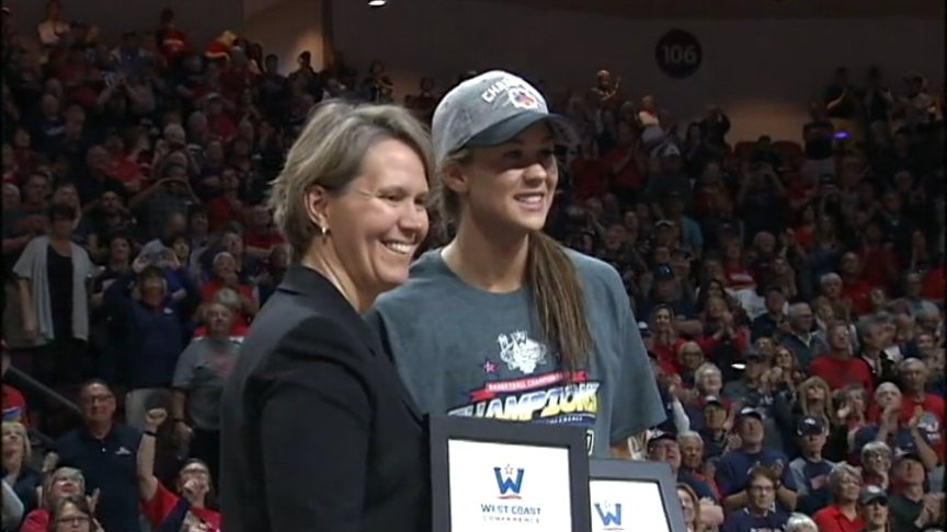 Gonzaga women win WCC Tournament Title