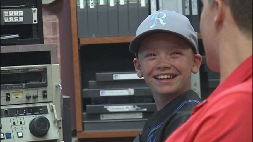 Danner Goes To Sportscaster Camp