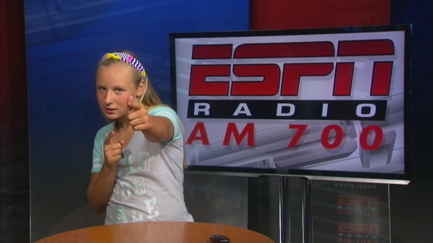 Tori Goes To Sportscaster Camp