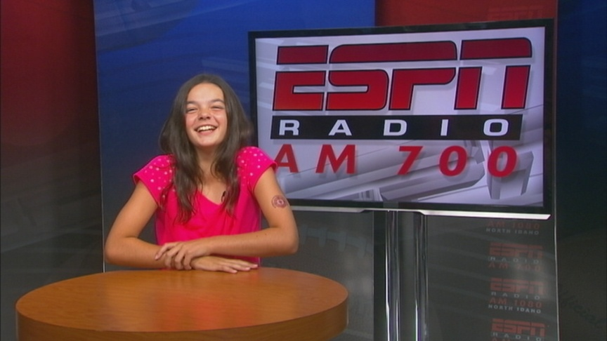 Alexis Goes To Sportscaster Camp