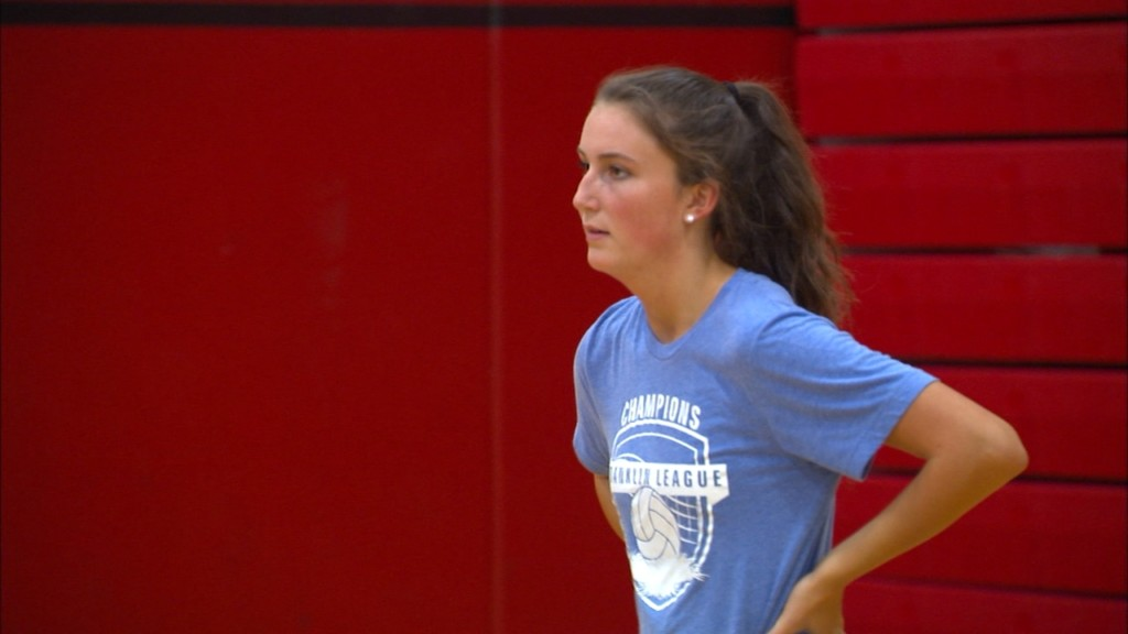 Allbery leading the way for the North Central volleyball team