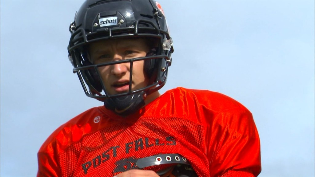Pearse hopes to lead Post Falls deep into the playoffs