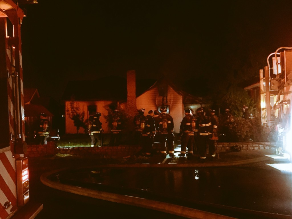 Fire claims house in east Spokane