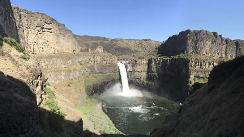 Search for missing swimmer at Palouse Falls State Park suspended for dangerous conditions
