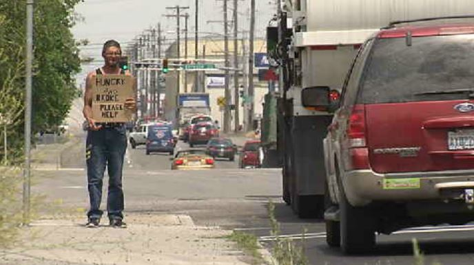 Mayor, police chief voice concern over panhandling