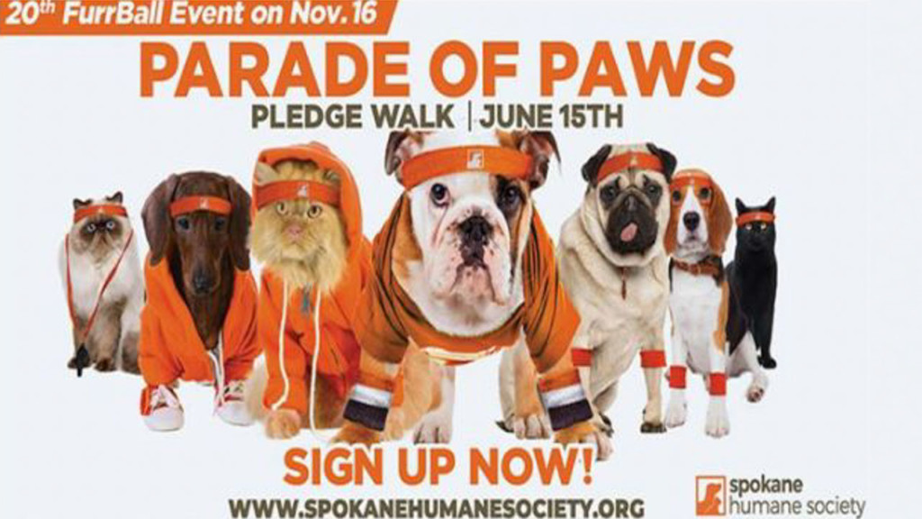 16th annual Parade of Paws set to take place in June