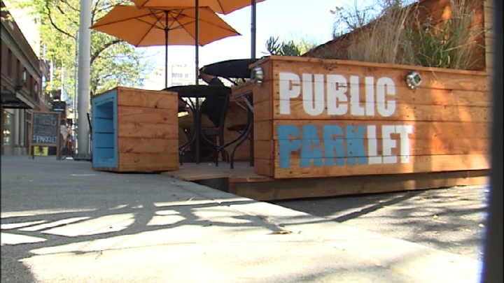 Sound Off for September 4th: What do you think of the new Downtown Parklet?