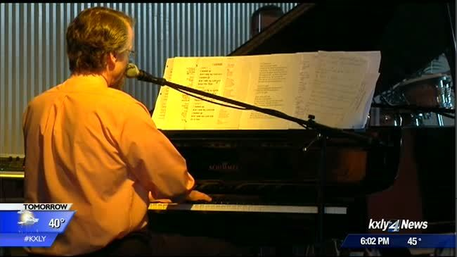 Pastor Tim Remington plays piano one year after shooting