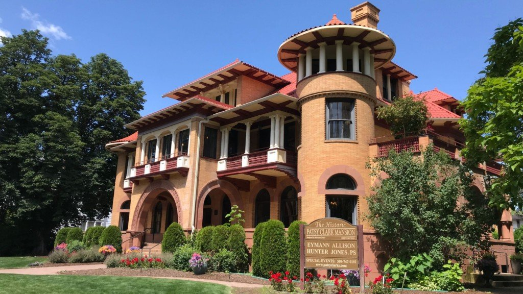 Historic Patsy Clark mansion in Browne's Addition is up for sale