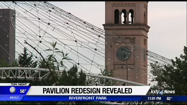 Pavilion redesign unveiled, some still skeptical
